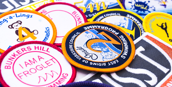 Gymnastic-swimming Badges