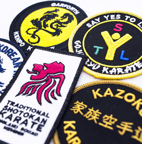 Karate badges