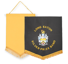 Embroidered Pennants
