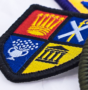 Scout troop patches