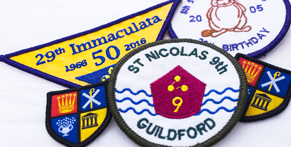Scout patches uk
